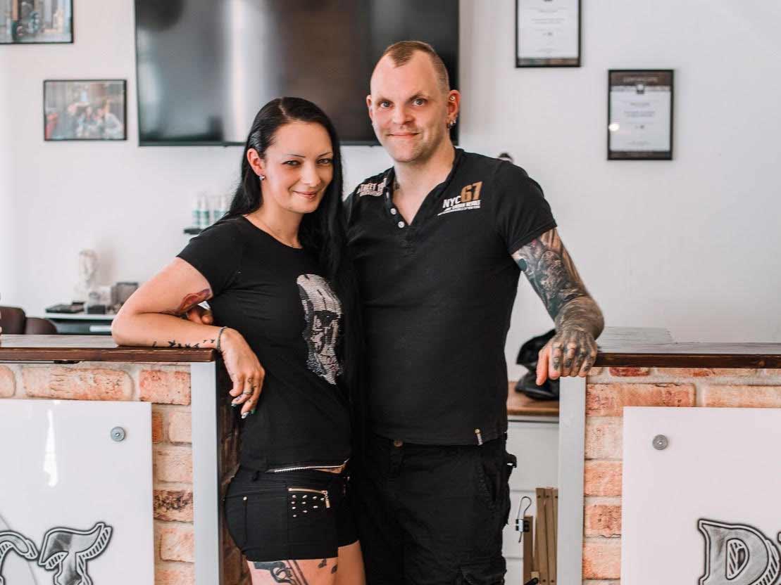 Das Team von Perfect Needles Tattoostudio in Deggendorf